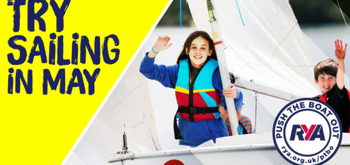 TRY SAILING IN MAY